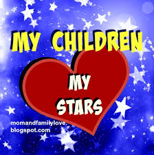 Mom And Family Love My Children Are My Stars Quotes Stunning I Love My Daughter Quotes For Facebook