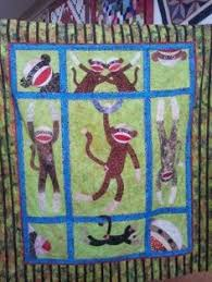 BABY SOCK MONKEY QUILT PATTERN | Quilting Fun | Pinterest | Baby ... & Sock monkey quilt. ♥♥ Adamdwight.com