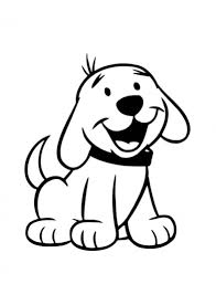 Dog Coloring Pages For Kids Preschool And Kindergarten Christmas