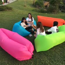 inflatable lounge furniture. Yan Cloud Outdoor Inflatable Sofa Beanbag Chair Beach Bed Sleeping Bag Can Be Folded Lounge Furniture L