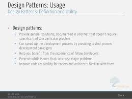 Design Patterns In Software Engineering