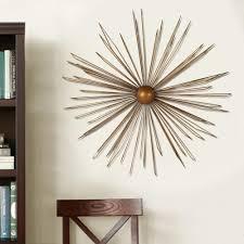 iron wall cross love: modern starburst metal wall decor ec db c a fcf