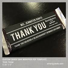 Personalized Candy Bar Wrapper Template Custom Candy Bar Wrappers Magdalene Project Org