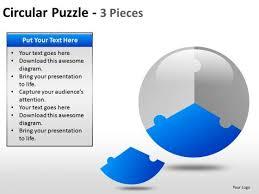 One Third Of A Pie Chart One Third Pie Chart Powerpoint Diagram Slides Powerpoint
