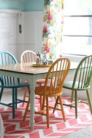best 25 painted dining chairs ideas on colorful awesome regarding awesome home diffe color dining room chairs remodel