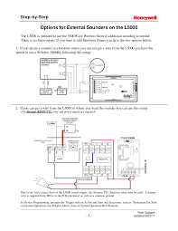 honeywell home alarm wiring diagram lefuro com Honeywell Ag6 Bell Box Wiring Diagram honeywell lynx touch external sounder install guide Honeywell Actuator Wiring Diagrams