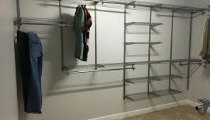 closet stunning helper ideas rubbermaid caps rod organizer corner home bracket white inch kits hanger