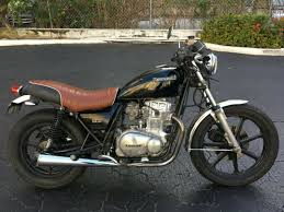 antique cafe racer vine kawasaki 440 ltd motorcycle
