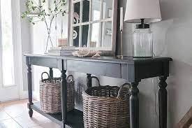 farmhouse entryway table ideas to