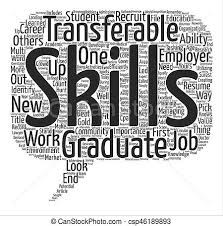 Define Transferable Skills The Importance Of Transferable Skills For Graduates Word Cloud
