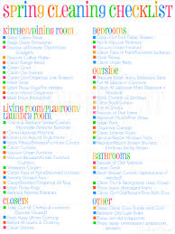 My Spring Fall Cleaning Checklist Printable Lamberts Lately