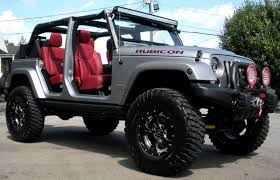 custom jeep rubicon side angle open top doors removed 2