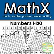 Math Expressions 120 Chart 1 120 Math Charts Math Expressions Inspired Classroom