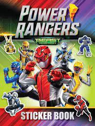 Power Rangers Beast Morphers Sticker Book : Farshore: Amazon.de: Bücher