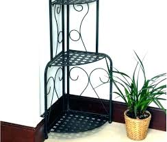 bakers rack plant stand folding corner shelf large size of outdoor wood with hutch french kitchen