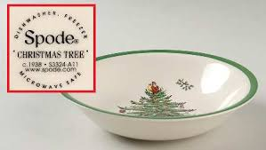 Spode Christmas Tree Garland At Replacements LtdSpode Christmas Tree Cereal Bowls