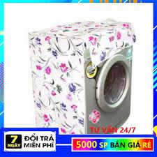 XẢ LỖ 1 NGÀY] bọc máy giặt cửa đứng, cửa ngang từ 7kg 10kg , tấm phủ máy  giặt dày 2 lớp chống bám bụi bẩn hoa văn