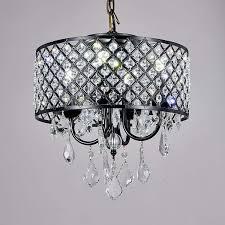Afaura 4 Light Crystal Chandelier Swanhouse Flush Mount Pendant Ceiling Lighting Crystal