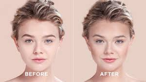 how to contour your heart shaped face sephora
