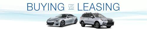 Buy Vs Lease A Car Buying Vs Leasing Subaru Financing Olympia Wa