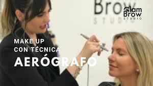 makeup con aerógrafo glam brow studio maquillaje profesional