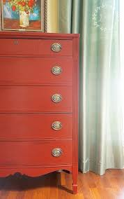 painted red furniture. 10 Red Painted Furniture Makeovers, Furniture, Dressers, Tables