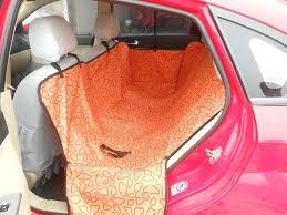 hammock pet seat cover pet dog cat waterproof car seat cover mat blanket cradle bed rear hammock pet seat cover