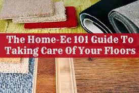 guide to clean floors
