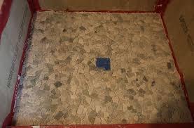 mosaic shower floor tile. Custom Shower Floor Tile Installation Photo Mosaic S