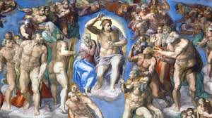 last judgment essay by dr esperanca camara article khan academy the composition michelangelo s
