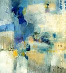yellow and blue abstract wall art blue abstract wall art