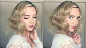 1920 Hair Style great gatsby faux bob 1920s inspired hair youtube 3799 by wearticles.com