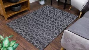 grey geometric rug amazing toscana cube dark with regard to 8