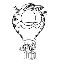 Garfield Kleurplaten Kleurplatenpaginanl Boordevol Coole