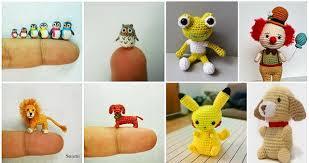 Crochet Animal Patterns Custom DIY Miniature Crochet Animals Free Patterns Home Design Garden