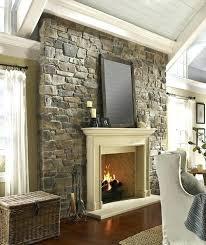 stone veneer fireplace diy beautiful stone veneer over brick fireplace interior design stacked stone veneer fireplace