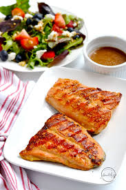 Easy <b>Grilled</b> Salmon (Or <b>Grill Pan</b>) - <b>A</b> Pinch of Healthy