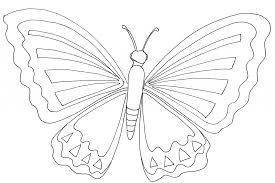 Dessin De Coloriage Papillon Imprimer Cp19986