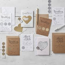 What Are Save The Date Cards White Scratch The Date Save The Date Card Invitations