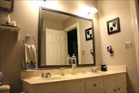 Decorative Bathroom Mirror 1 Profile Carved Decorative Bathroom
