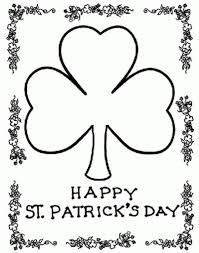 St Patricks Day Coloring Pages Getcoloringpages pertaining to St ...