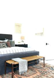 end of bed storage bench. Bench At End Of Bed Storage . B