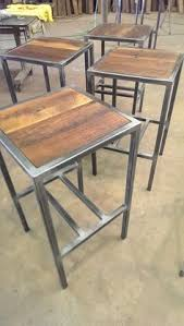 wood and iron furniture. a backless hudson u0026 co built with steel and reclaimed wood by metalfreddesigns iron furniture m