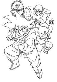 Small Picture Top 20 Free Printable Dragon Ball Z Coloring Pages Online Super