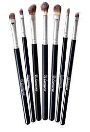 some non porous eye brushes that are a perfect dupe for expensive sigma brushes you can wash these repeatedly and they won t fray or loose their shape