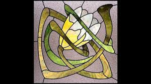 best art deco stained glass decorating ideas
