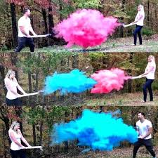pink powder for gender reveal image 0 diy