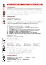 Civil Engineer CV example 5 ...