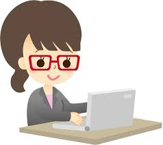 「イラスト 無料 パソコン 女性」の画像検索結果
