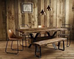 vintage industrial furniture tables design. Vintage Industrial Rustic Reclaimed Plank Top Dining Table..UK Manufactured In Home, Furniture \u0026 DIY, Furniture, Tables | EBay Design N